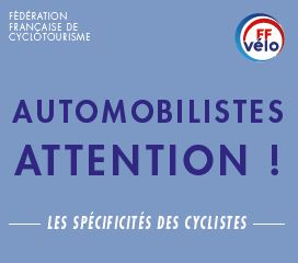 Un dépliant à l'attention des automobilistes