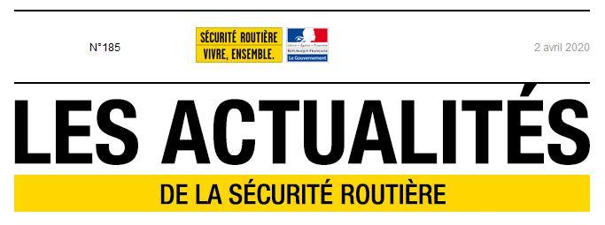 Info Lettre la prévention routière n° 185