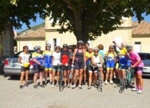 Une réussite pour les féminines Hautes-Alpines : un séjour à SAHUNE (du 4 au 6 sept.)