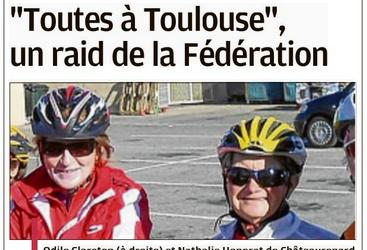 """""""Toutes à Toulouse"""" un raid de la Fédération."""